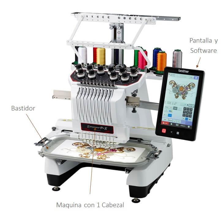 Maquina de bordar semi industrial