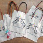 Bolsos bordados para tienda Museo Thyssen