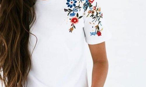 Customizar camisetas y algo más… con el bordado