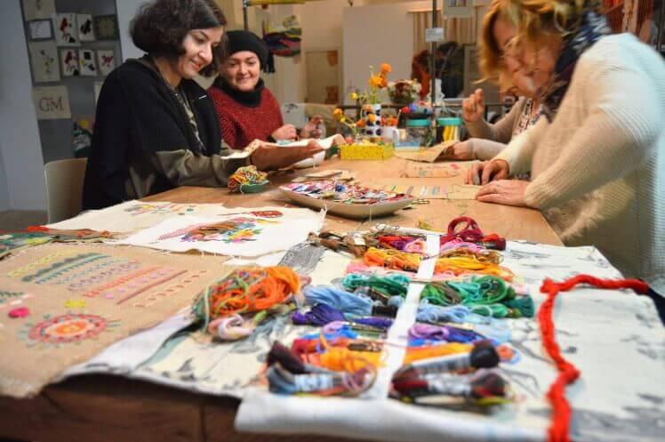 taller de bordado