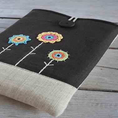 Ideas para decorar objetos con bordado